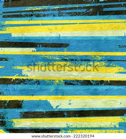 abstract stripes on wood texture - stock photo