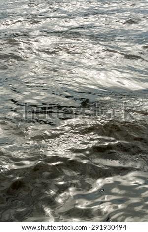 Abstract : sunlight on water  - stock photo