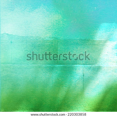 abstract sunny background - stock photo