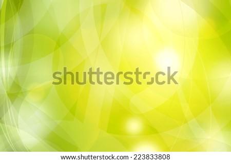 abstract sunny fresh nature background illustration  - stock photo