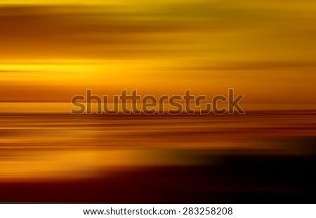 abstract sunset sky. Beautiful sky. - stock photo