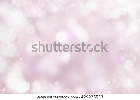 abstract sweet pink or purple bokeh soft light glitter in pastel background for Christmas, valentine,New year, Birthday or any special day