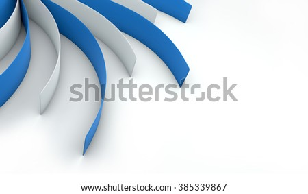 Abstract swirl color pattern
