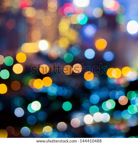 Abstract Take Colorful Christmas Lights Background Stock Photo ...