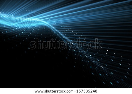 Abstract techno background - stock photo