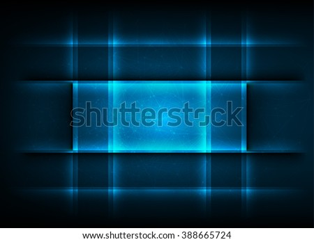 Abstract technology background. Beautiful colors.