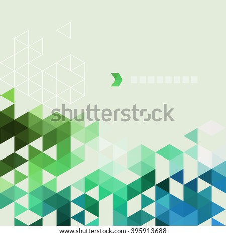 Abstract technology background in color. illustration.
