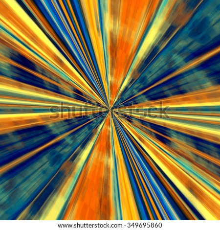 Abstract technology background. Odd visual arts. Hi-Tech line art. Energy ray or beam. Made in full frame. Special dynamic fx. Loopable power zoom. Big bang theory of universe. Surrealistic sky way.