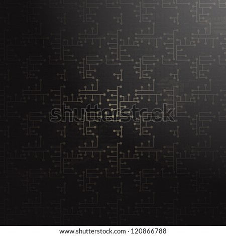 abstract technology background (raster version) - stock photo