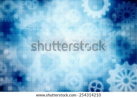 Abstract technology business background - stock photo