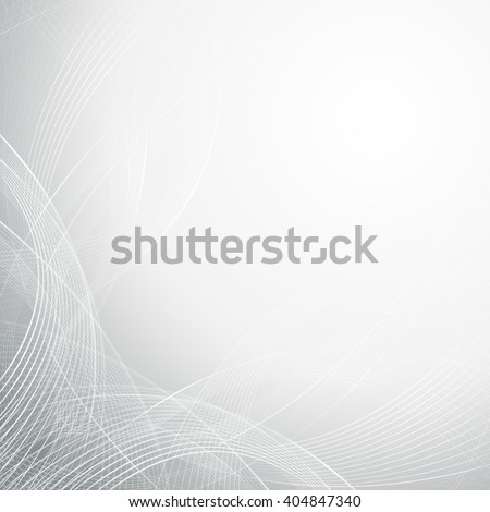 Abstract technology concept futuristic line art background - stock photo