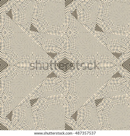 Abstract texture background with filter Halftone pattern, jigsaw design style, can be used as a background
