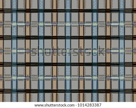 abstract texture. colored weave pattern. retro checkered background. geometric plaid illustration.
