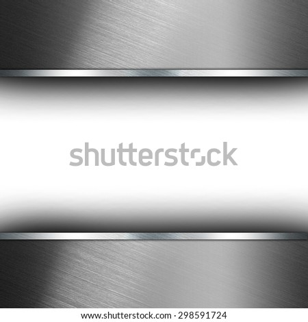 Abstract texture grey background with metal stripes - stock photo