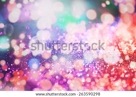 abstract texture, light bokeh background - stock photo