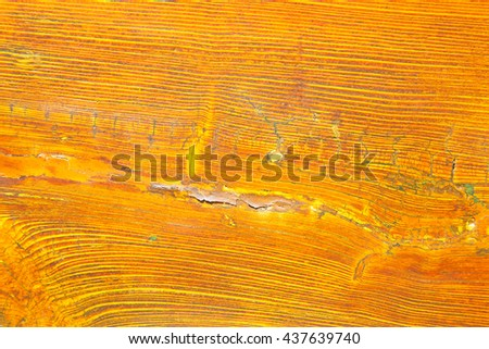 abstract texture of a brown antique wooden old door in italy   europe - stock photo