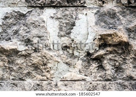 abstract texture of the old destroyed stone surface