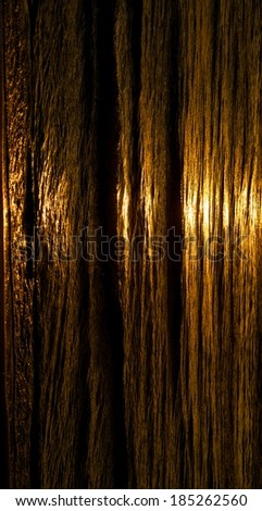 Abstract texture photo, yellow orange pattern background, material, water wall, artistic photo, sunset, water background - stock photo