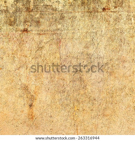 abstract textured cracked old vintage background. For creative unusual vintage design. Grungy Concrete Surface. Great background or texture. - stock photo