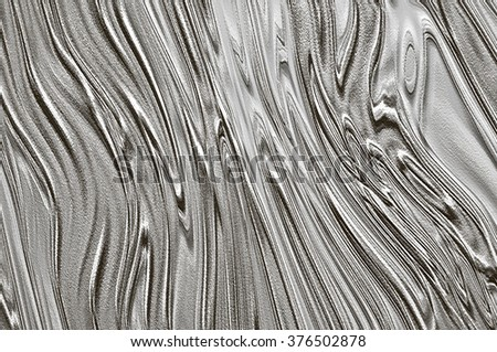 Abstract textured gray background assembled of black and white curves  - stock photo