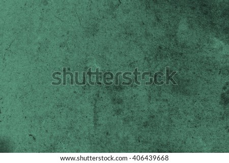Abstract  textured grunge background in dark green - stock photo