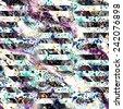 abstract textured seamless pattern - stock photo