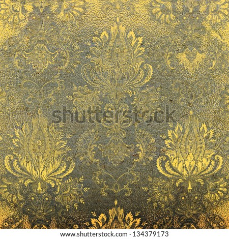 Abstract textured vintage background. For art texture, grunge design, and vintage paper or border frame