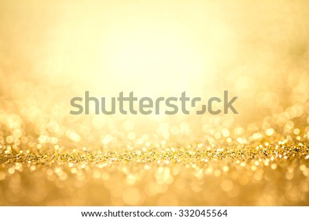 Abstract the gold light for holidays background - stock photo