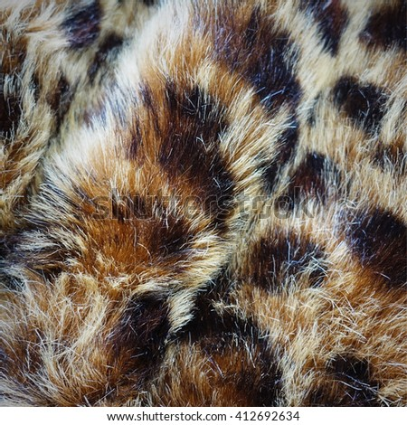 Abstract tiger cat skin fur - stock photo