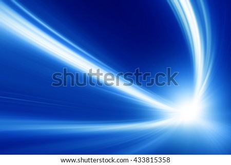 Abstract toned image of speed motion. - stock photo