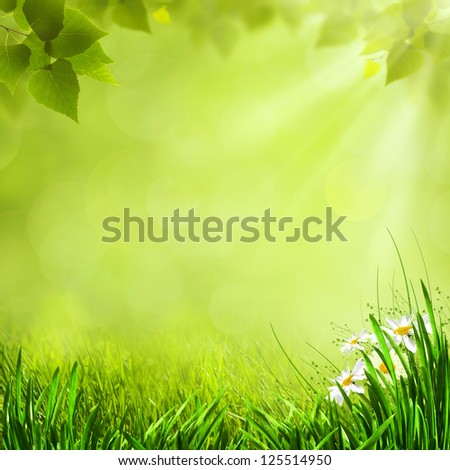 Abstract toon background for your design - stock photo