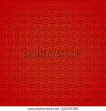 Abstract traditional chinese pattern background - stock photo