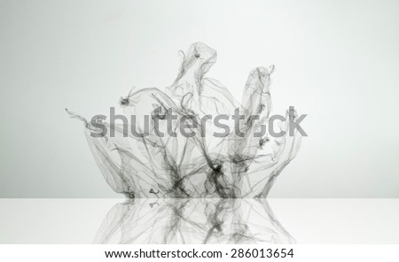 abstract transparent shape texture background - stock photo