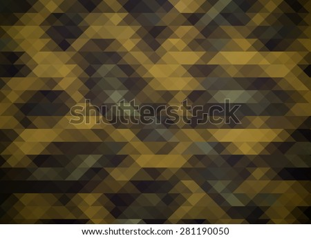 Abstract triangles background. Geometric shapes mosaic.