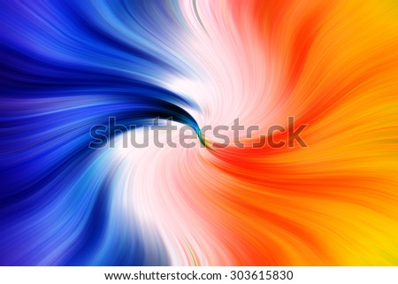 Abstract twirl stripes pattern background - stock photo