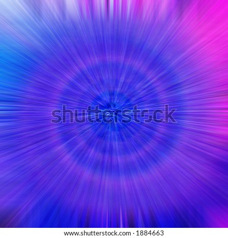 Abstract twist, turns and lines. - stock photo