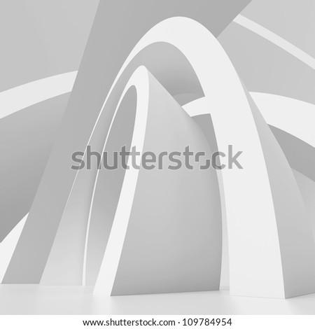 Abstract Urban Design - stock photo