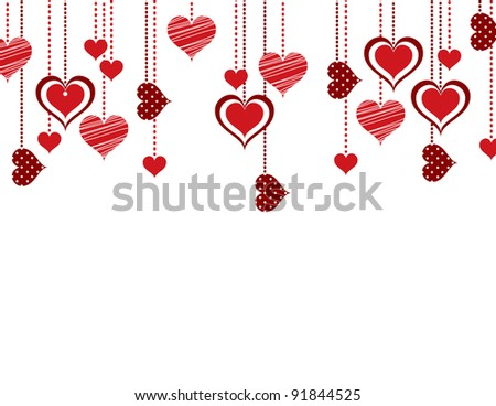 Abstract Valentine Background.