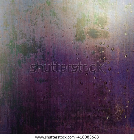Abstract vintage background with faded grungy texture. Aged backdrop with different color patterns: brown; blue; gray; purple (violet); pink - stock photo