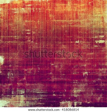 Abstract vintage background with faded grungy texture. Aged backdrop with different color patterns: yellow (beige); brown; red (orange); purple (violet); pink - stock photo