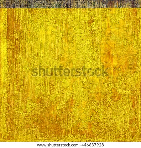 Abstract vintage background with faded grungy texture. Aged backdrop with different color patterns: yellow (beige); brown; gray; green; purple (violet) - stock photo
