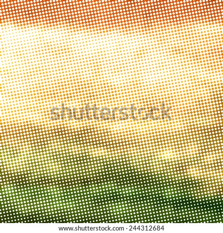 abstract vintage background with many irregular dots and diamonds pattern, halftone texture - stock photo