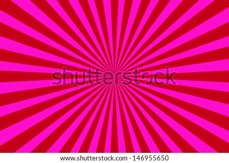 Abstract vintage colored sun burst background - stock photo