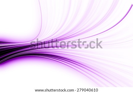 abstract  violet  background  and digital wave with motion blur