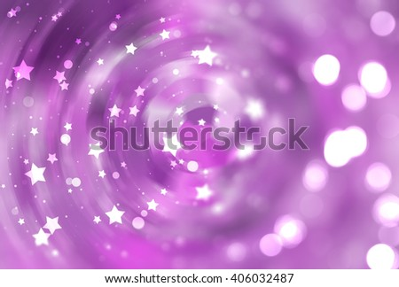abstract violet background with scintillating circles and gloss