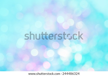 abstract vivid bokeh circles in soft color style background,free Space for text input,concept valentine - stock photo