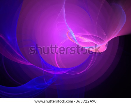 Abstract wallpaper. Abstract fractal. Fractal art background for creative design. Decoration for wallpaper desktop, poster, cover booklet. Abstract texture. Psychedelic. Print for clothes, t-shirt. - stock photo