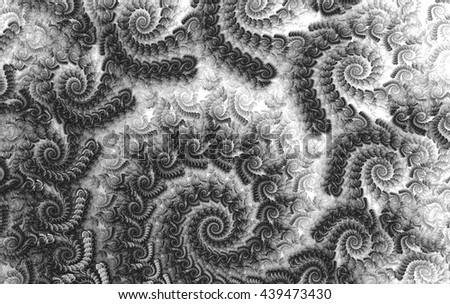 Abstract wallpaper. Abstract fractal. Fractal background art   - stock photo