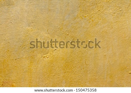 abstract wallpaper of oil painting with brush strokes in warm colors - stock photo