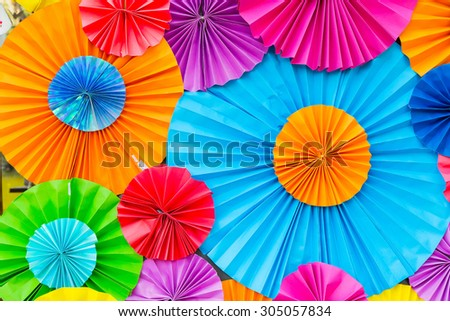 Abstract wallpaper rainbow Colorful Paper background